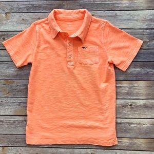 Carter's: Bright Peach Polo Shirt